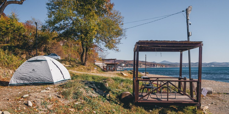 Места под палатки