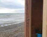 Баня на берегу моря